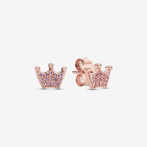 anello pandora corona rosa