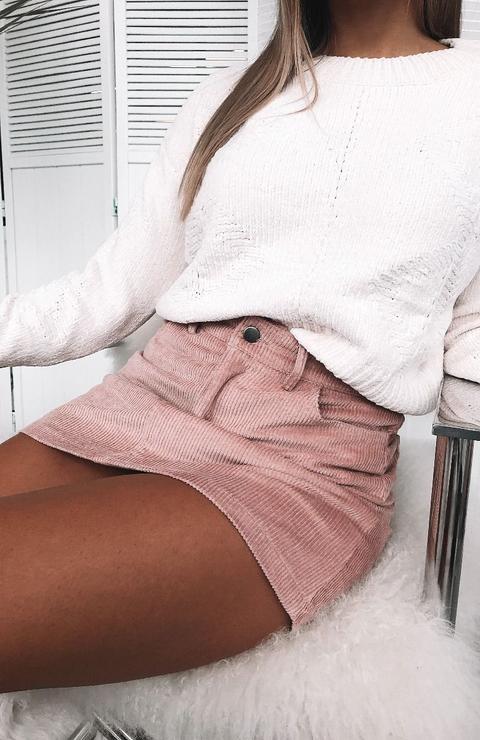 Lost Dreams Mini Skirt Pink