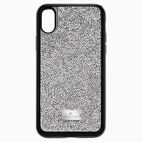 Funda Para Smartphone Con Protección Integrada Glam Rock, Iphone® X/xs, Gris de Swarovski en 21 Buttons