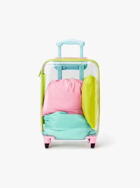 Trolley Transparente Travel de Zara en 21 Buttons