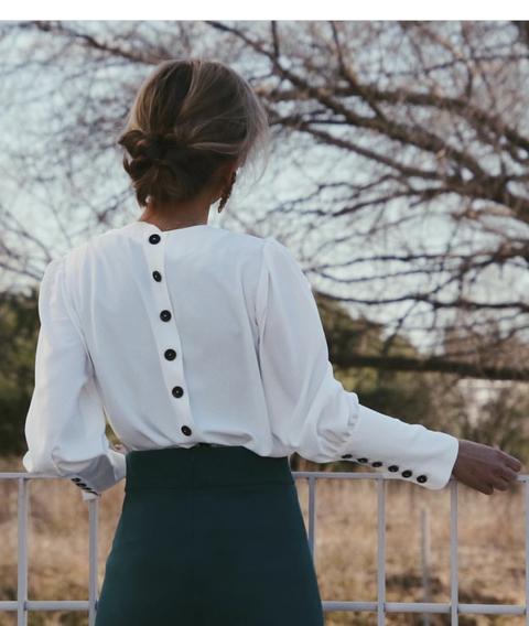 Blusa Paloma Blanca de An & Be en 21 Buttons