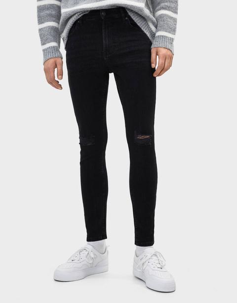 Jeans Super Skinny Fit de Bershka en 21 Buttons