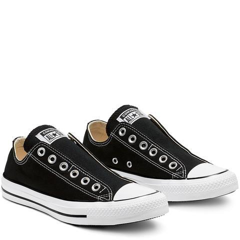 Converse Chuck Taylor All Star Slip Low Top Black, White de Converse en 21 Buttons