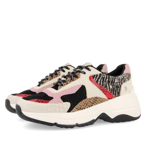 Sneakers Estilo Chunky Multicolores Para Mujer Valderice de Gioseppo en 21 Buttons
