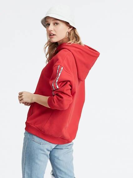 Unbasic Hoodie Rojo / Brilliant Red