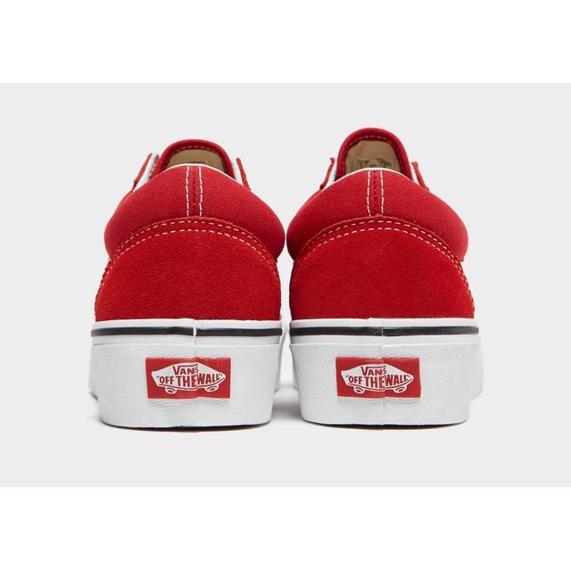 Vans Old Skool Platform Women's - Red