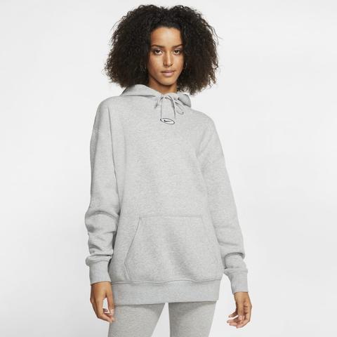 Nike Sportswear Swoosh Sudadera Con Capucha - Mujer - Gris de Nike en 21 Buttons