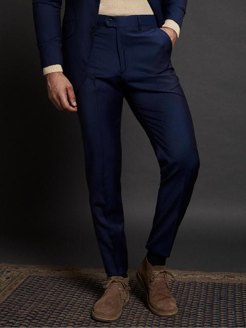 Pantalon Traje Classic Azul Claro de Silbon en 21 Buttons