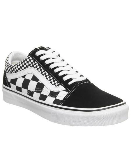 Vans Old Skool Black Checkerboard True