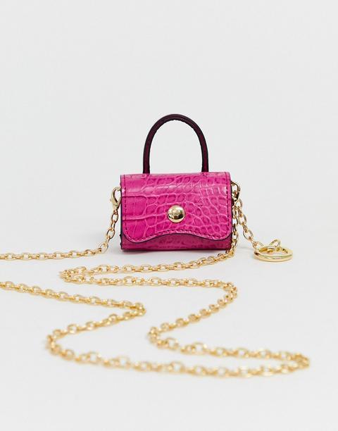 Asos Design - Mini Porte-monnaie-rose