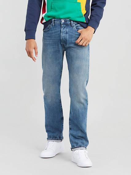 501® Levi's® Original Fit Jeans Azul / Tissue de Levi's en 21 Buttons