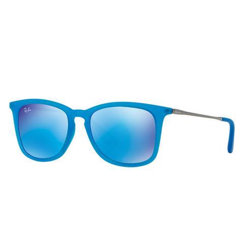 Rj9063s Unisex Sunglasses Lentes: Azul, Montura: Gunmetal de Ray-Ban en 21 Buttons