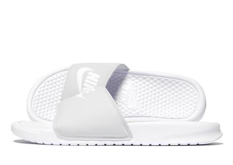 Grupo Mezclado General  Nike Benassi Slides Women's - Grey from Jd Sports on 21 Buttons