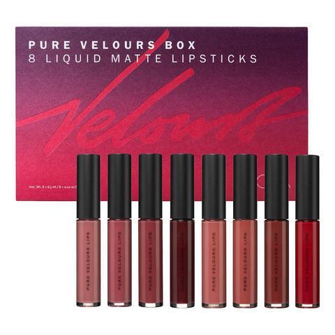 Pure Velours Box Kit De Barras De Labios Mate de Sephora en 21 Buttons