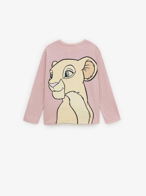 T shirt Simba Et Nala Le Roi Lion © Disney from Zara on 21 Buttons