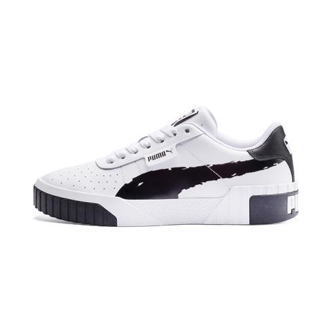 Zapatillas Para Mujer Cali Brushed, Blanco/negro, Talla 35,5 | Puma Mujeres de Puma en 21 Buttons