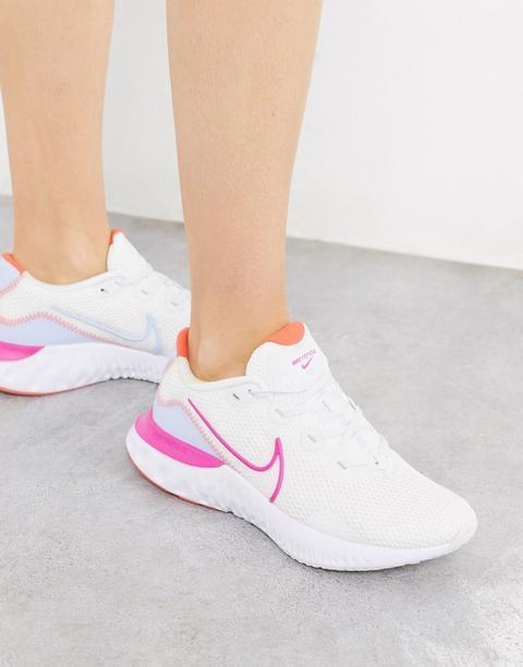 Zapatillas Blancas Renew Run De Nike Running-blanco