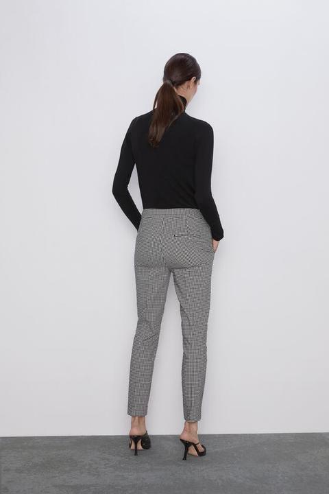 Pantalón Cuadro Vichy