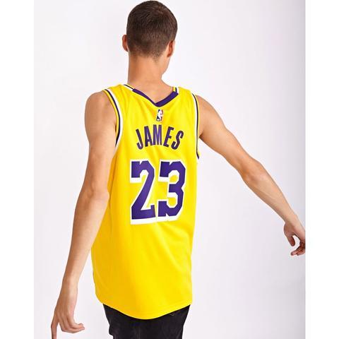 purchase cheap 4f6f8 46f16 Nike Nba La Lakers Lebron Swingman Road @ Footlocker from Footlocker on 21  Buttons
