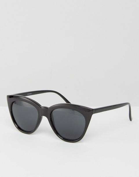 Asos - Occhiali Da Sole A Occhi Di Gatto - Nero