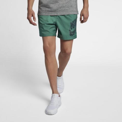 Nike Sportswear Men's Woven Shorts - Green from Nike on 21 Buttons