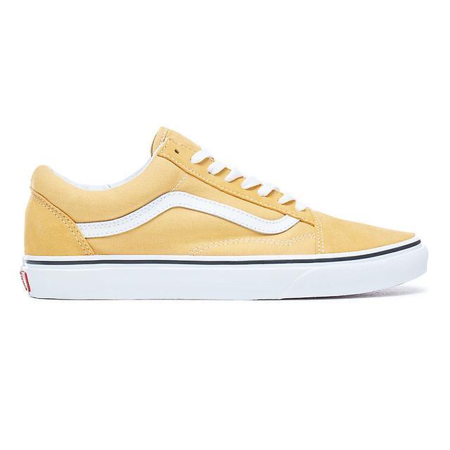 Vans Chaussures Old Skool (ochre-true White) Homme Jaune from Vans on 21 Buttons