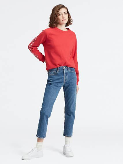 501® Crop Jeans Azul / Jive Stoneblue de Levi's en 21 Buttons