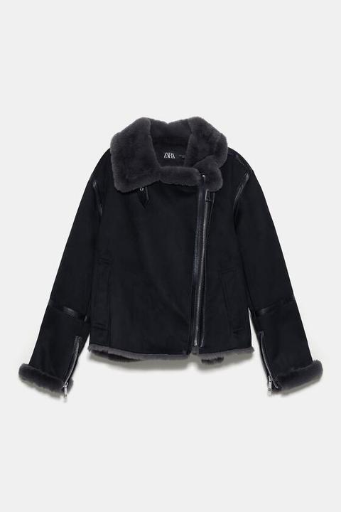Cazadora Doble Faz de Zara en 21 Buttons