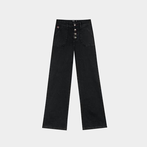 Jeans Palazzo Negro de Noon en 21 Buttons