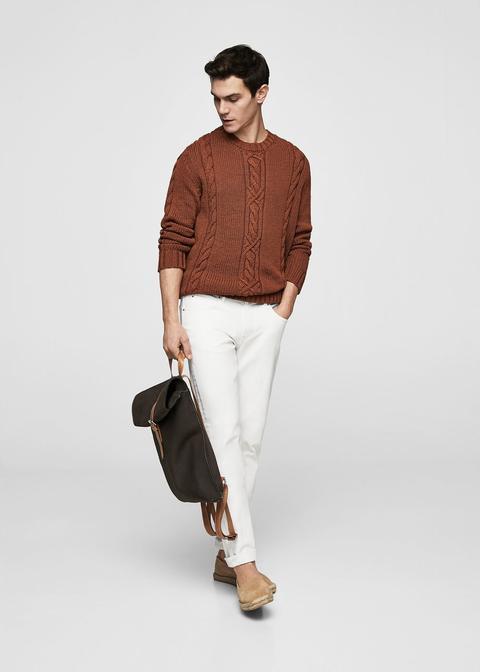 Jeans Patrick Slim-fit Blancos