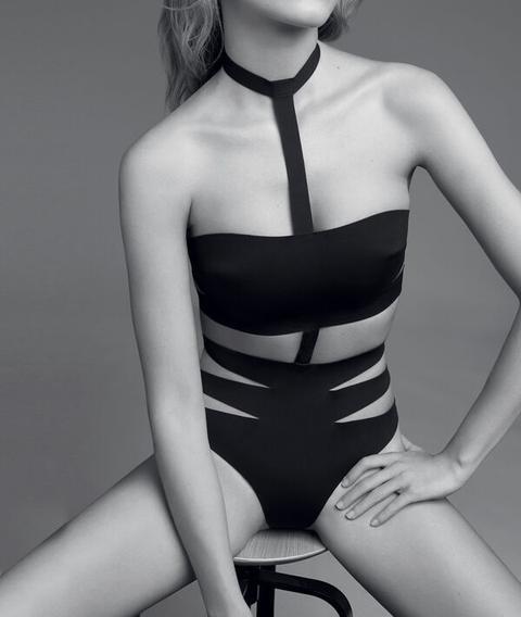 Body Neopreno Multitiras - Sexy Bonding - 42 - Negro - Mujer - Etam de Etam en 21 Buttons