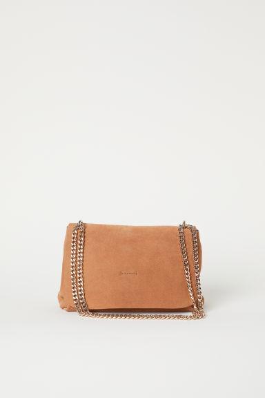 647184384317d4 Handtasche Aus Veloursleder - Orange - Damen from H&M on 21 Buttons