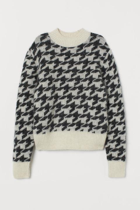 Jersey En Mezcla De Alpaca - Negro de H&M en 21 Buttons