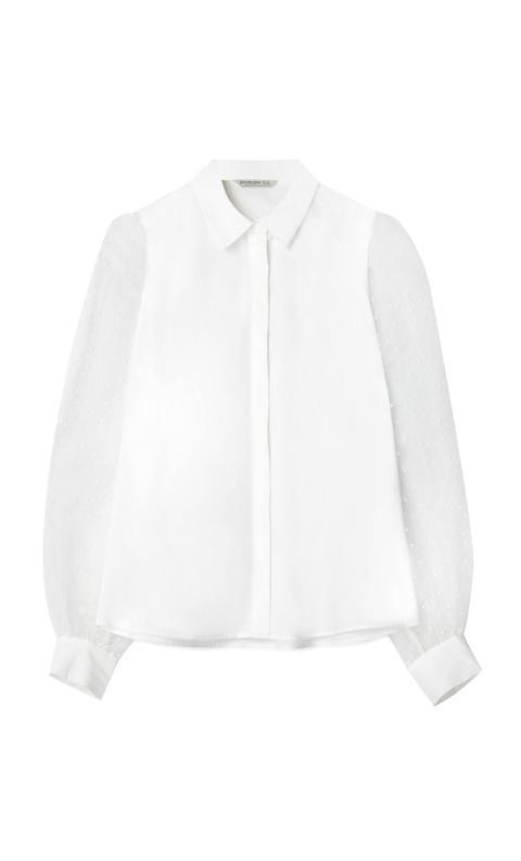 Camisa Popelín Organza