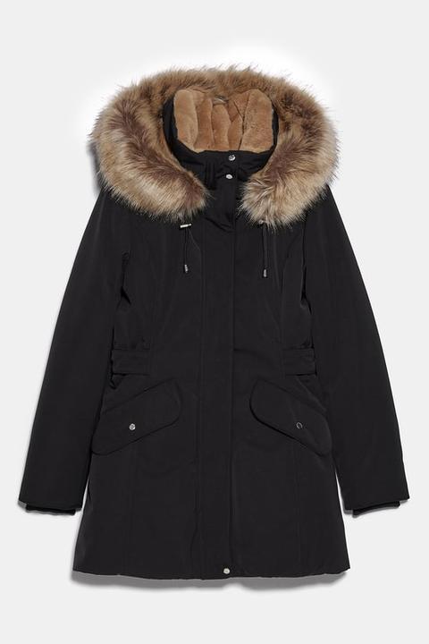 Abrigo Acolchado Sorona ® Dupont™ de Zara en 21 Buttons