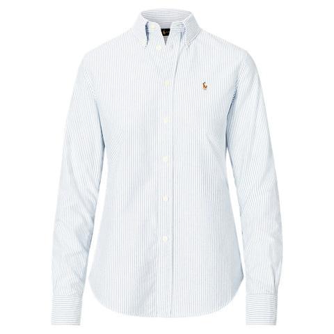 Camisa Custom-fit A Rayas de Ralph Lauren en 21 Buttons