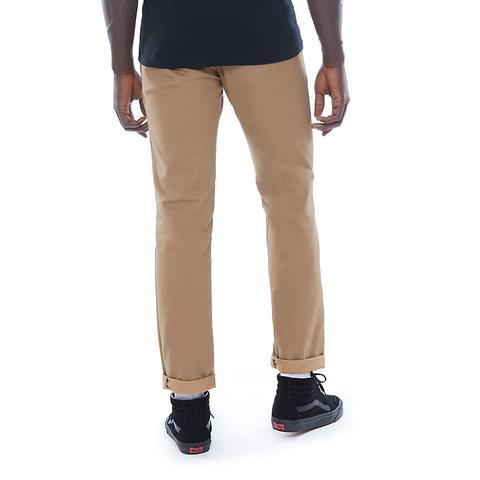Vans Pantalones Chinos Elásticos Authentic (marrón) Hombre Marrón