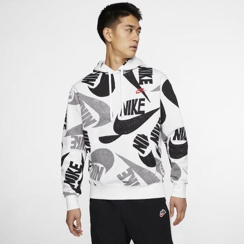 Nike Sportswear Club Sudadera Con Capucha - Hombre - Negro de Nike en 21 Buttons