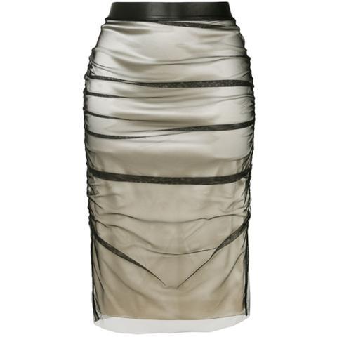 02f764b59 Social Marketplace Frill Maxi Skirt // Mustard from Verge Girl on 21 ...
