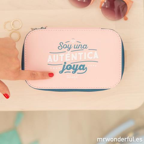 Neceser Joyero - Soy Una Auténtica Joya de Mr Wonderful en 21 Buttons