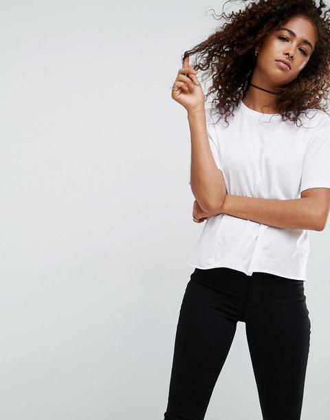 Asos - T-shirt Comoda - Bianco