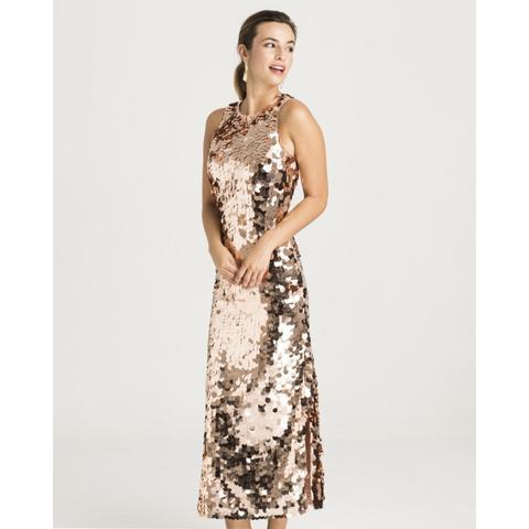 Vestido Largo Lentejuelas