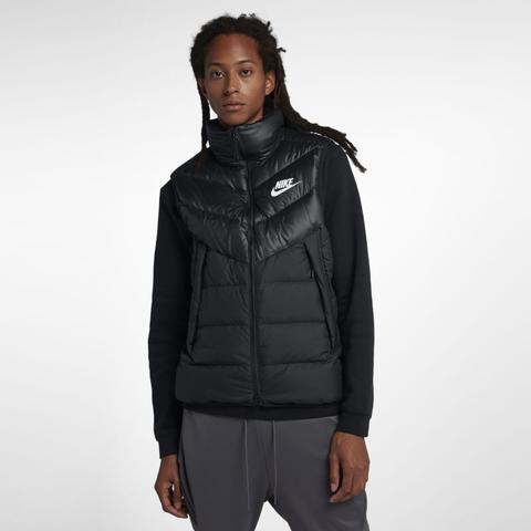 Smanicato In Piumino Nike Sportswear Windrunner Down Fill - Uomo - Nero de Nike en 21 Buttons