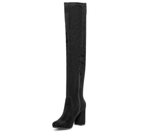 chaussures exclusives taille 7 meilleure valeur Cuissarde Veloutée Noire Mollets Fins from Eram on 21 Buttons