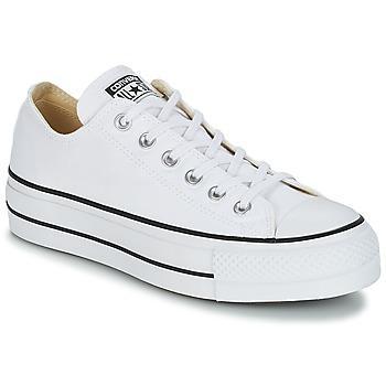 Converse Zapatillas Chuck Taylor All Star Lift Clean Ox Core Canvas Para Mujer de Spartoo en 21 Buttons