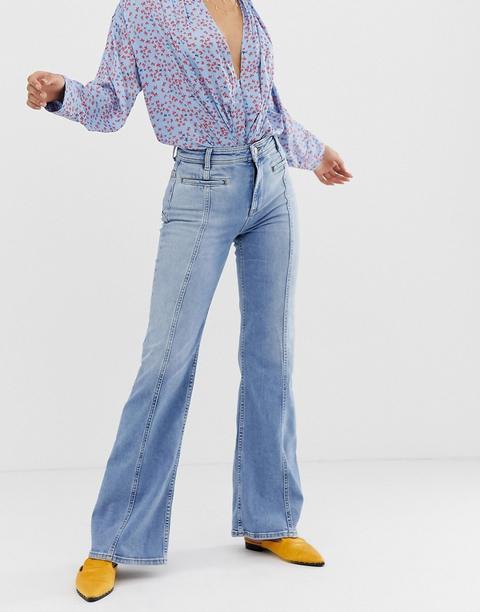 Free People - Jeans A Zampa - Blu de ASOS en 21 Buttons