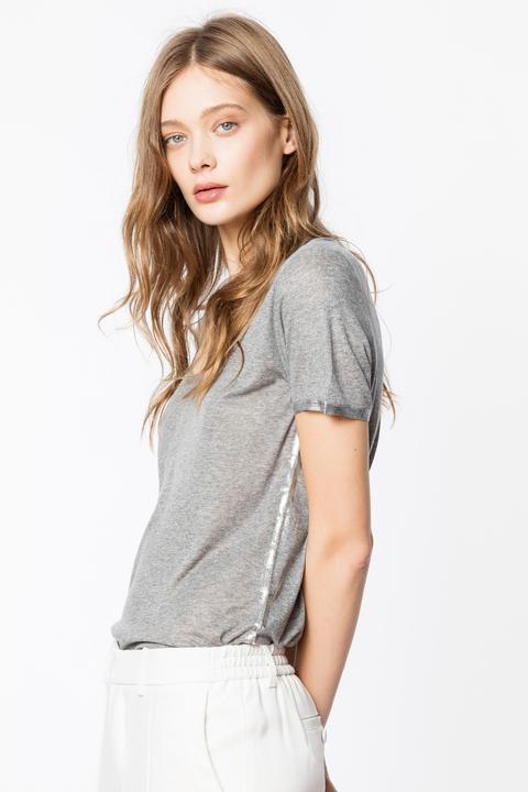 Camiseta Tino Foil de Zadig & Voltaire en 21 Buttons