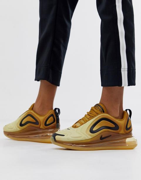 Estallar aprobar lotería  Nike - Air Max 720 - Sneakers Oro - Oro de ASOS en 21 Buttons