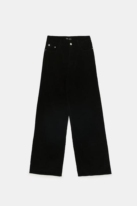 Pantalón Wide Leg Pana