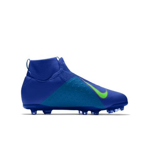 Scarpa da calcio multiterreno personalizzabile Nike Phantom Vision Academy MG By You